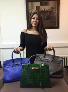Claudia Valentin Designer Handbag Specialist
