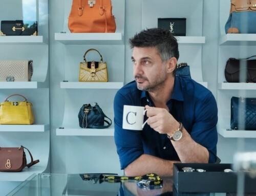 Tips from the top: Posh Pawn star James Constantinou